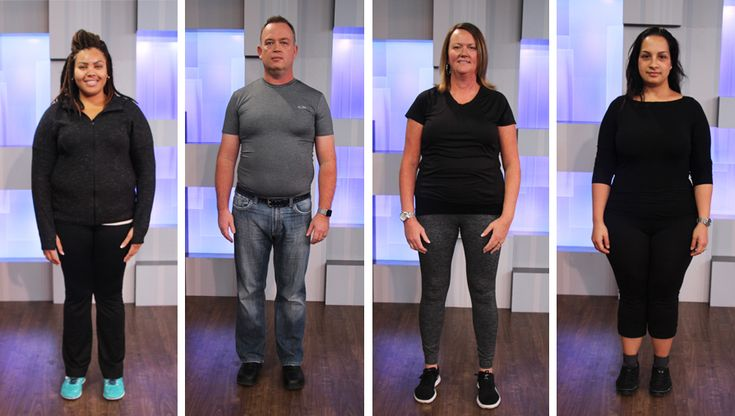 Meet our four 2017 Cityline Weight Loss Challenge participants!