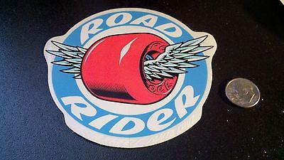 Vintage 114248: Road Rider Speed Wheels By Santa Cruz Old School Nos Vintage Skateboard Sticker -> BUY IT NOW ONLY: $40 on eBay!