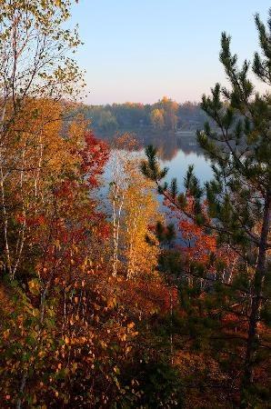Fall colours Sudbury, Ontario