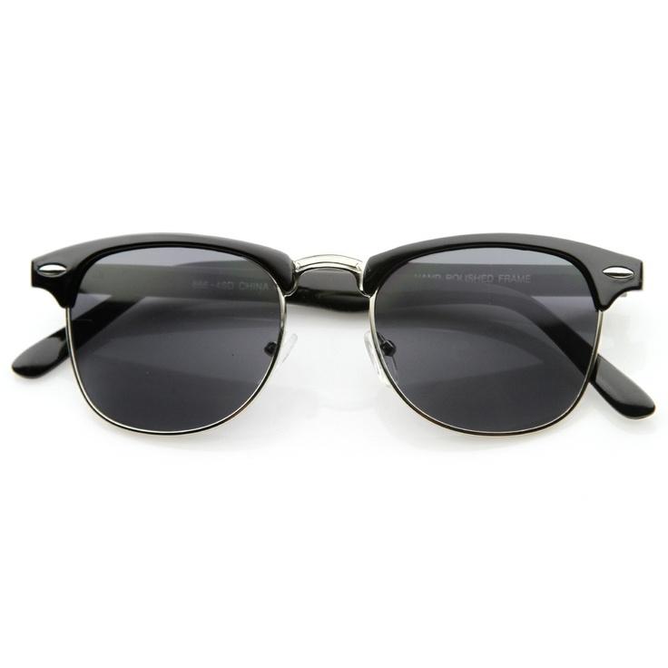 e40bd932275 Half Rim Sunglasses Wayfarer