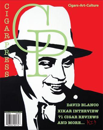 Cigar Press Magazine  cigar magazine cover Al Capone