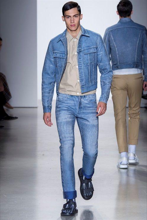 Collezioni uomo primavera estate 2016: tanti stili per un uomo di classe Calvin Klein @Indigitalimages.com