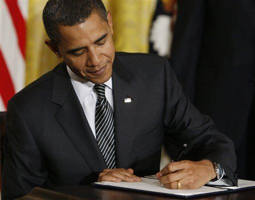 A list of Obama's executive orders
