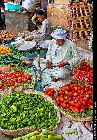 fruits market. luxor.