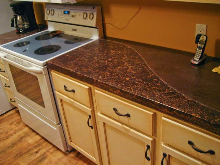... concrete countertops, Faux concrete countertops and Cost of concrete