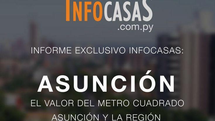 El portal InfoCasasacaba de publicar un informe (basado en su Big Data) que analiza el mercado inmobiliario en Asunción y otras ciudades de la región, a través de una comparativa de precios.