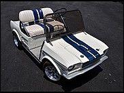 2010 Mustang Golf Cart