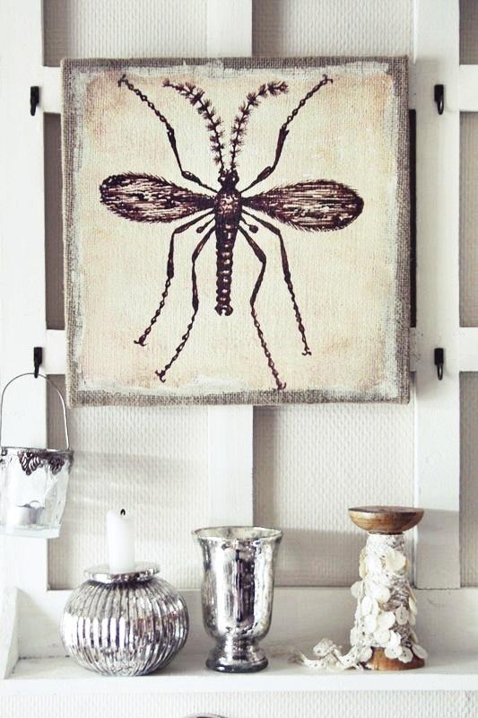 Canvastavla Bug La Finesse
