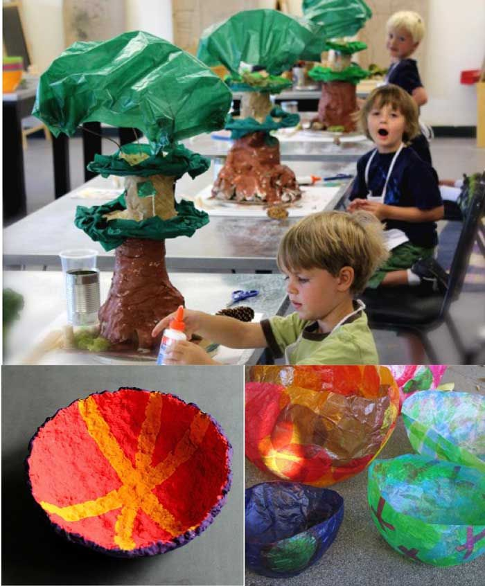 1000 images about paper mache kids club on pinterest for Paper mache craft ideas