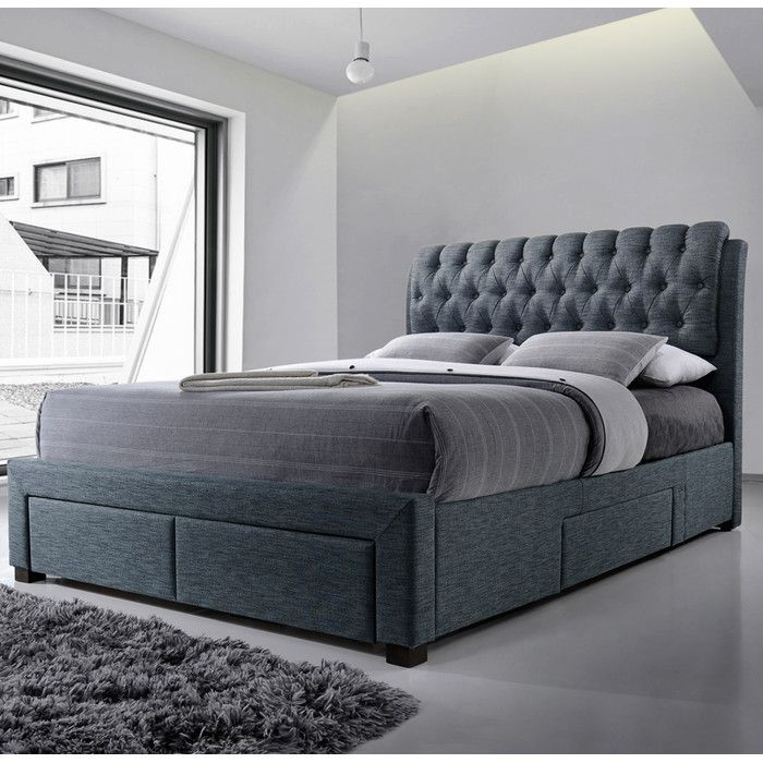 youu0027ll love the belerda upholstered storage bed frame at wayfaircouk