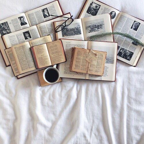 grafika book, coffee, and vintage