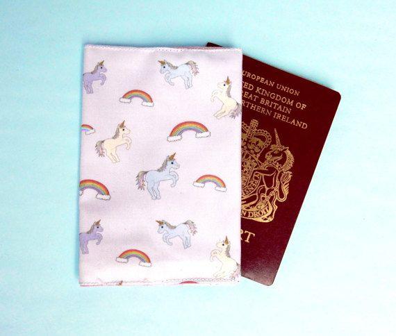 Unicorn passport wallet  unicorn passport cover  unicorn