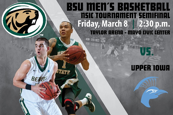 The Beavers are moving on! Bemidji State defeated No. 21 Winona State 74-72 Saturday to advance to the NSIC/Sanford Health Tournament Semifinals in Rochester, Minn. BSU will play Upper Iowa Friday at 2:30 p.m.
