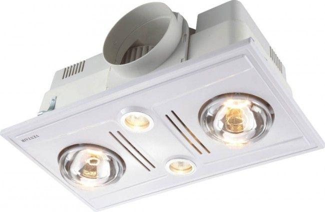 High Airflow Bathroom Heat Lamp