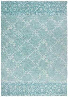 Vintage vloerkleed blauw. Tapijt Centrum