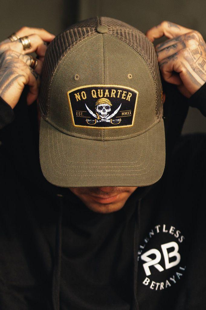 No Quarter No Quarter Trucker Hat Fashion