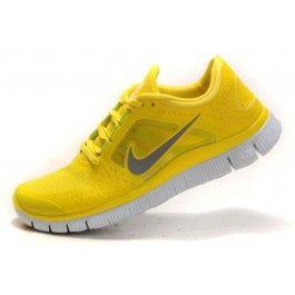 Nike Free Run+ 3 Herresko Gul Grå | billig Nike sko | Nike sko norge | kjøp Nike sko | ovostore.com