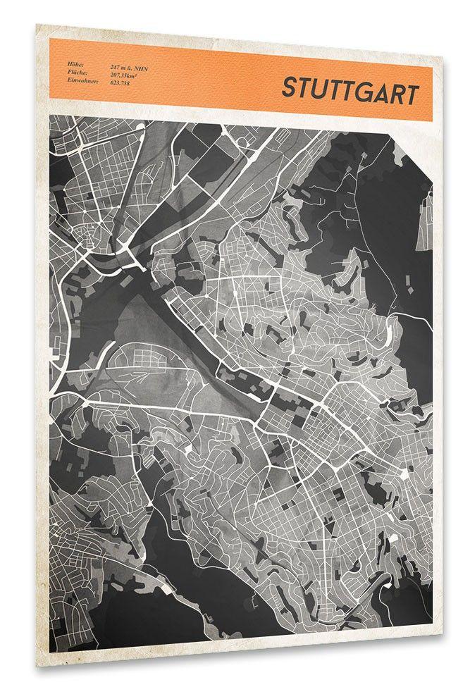 Stuttgart Karte