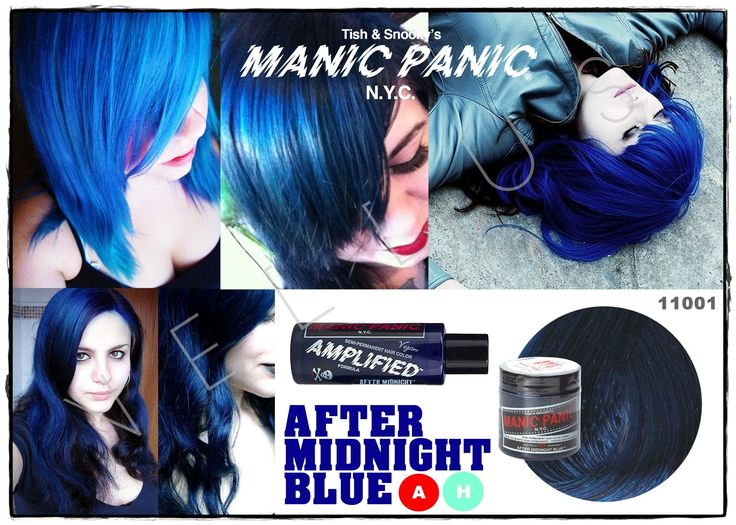Manic Panic Amplified After Midnight Blue  Vellus Hair Studio 83A Tanjong Pagar Road S(088504) Tel: 62246566