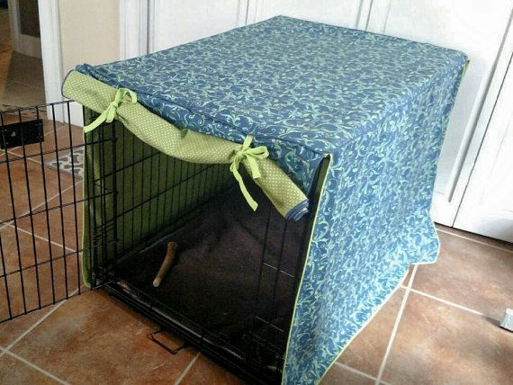 Aangepaste hond krat cover hond bed cover dog kennel door DesignsbyU