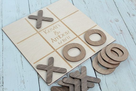 Noughts and Crosses Wedding Game Custom by DownInTheBoondocks