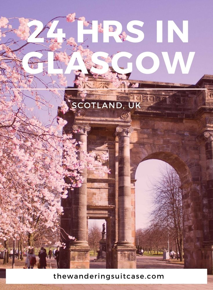 Tips and advice for spending the day in Glasgow, Scotland UK, United Kingdom. 24 hr itinerary for Glasgow.