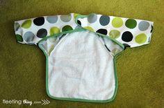 fleetingthing » Long-sleeved baby bib (pattern and tutorial)