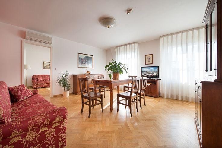 Prague Castle View Suite livingroom