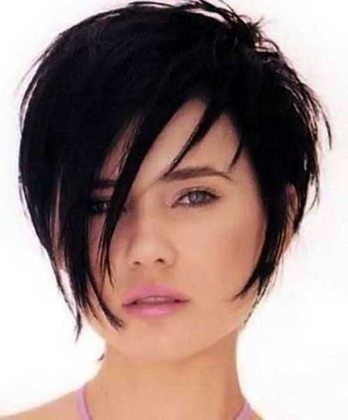 Short Length Layered Hairstyles Thin Hair For Round Faces