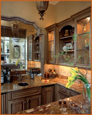 Wet bar - love the mirror & 57 best Ideas for the House images on Pinterest | Bar top epoxy ... Aboutintivar.Com