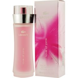 Love Of Pink Perfume by Lacoste #thinkpink #fragrancenet