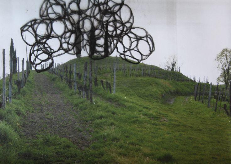 VIGNE MUSEUM by Yona Friedman and Jean-Baptiste Decavèle for LIVIO FELLUGA 100 - preparatory sketches #LIVIOFELLUGA