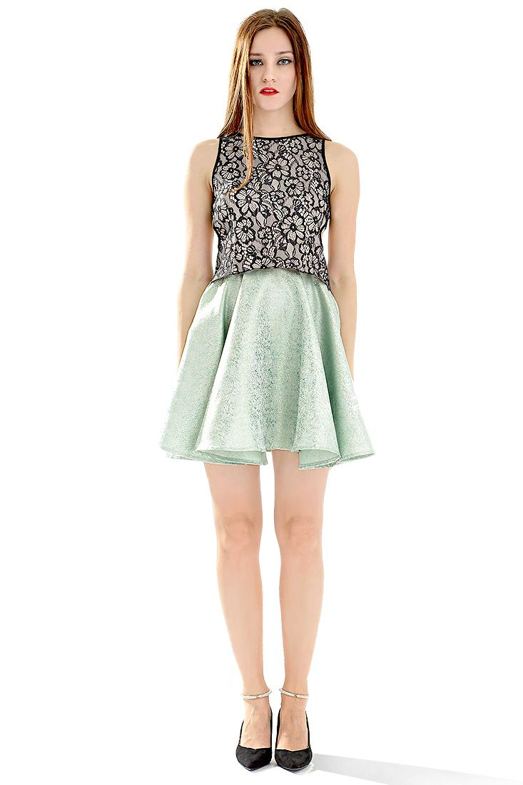 drop-dead-gorgeous-mint-green-skater-skirt