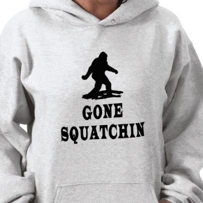 Warm & Toasty Pullover Hoody for Women. The Original Gone Squatching / Finding Bigfoot Tee by Chantal PhotoPix. / #apparel #beauty #fashion #style #tee #funny #Quote