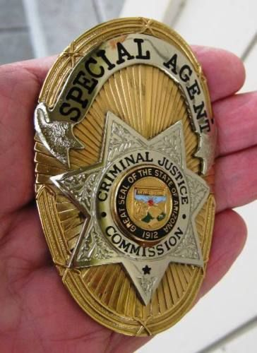 Special Agent, Criminal Justice Commission, States of Arizona