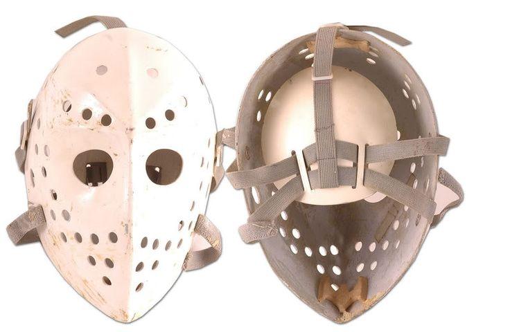 Image result for vintage goalie mask makers
