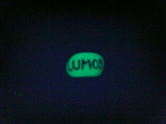 GLOW IN THE DARK LUMOS PANDORA.  Harry Potter Inspired LUMOS GlowInTheDark by KnittyWhittyBirdy, $3.00