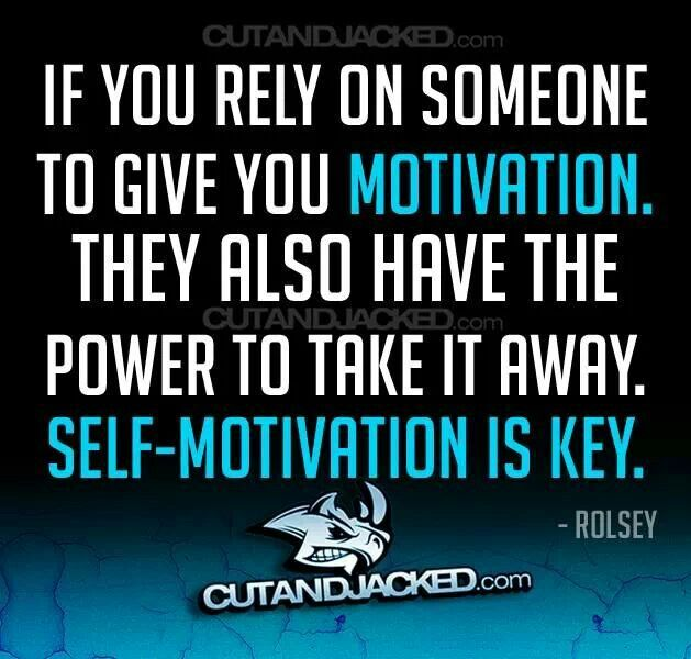 Is self interest our motivation to be