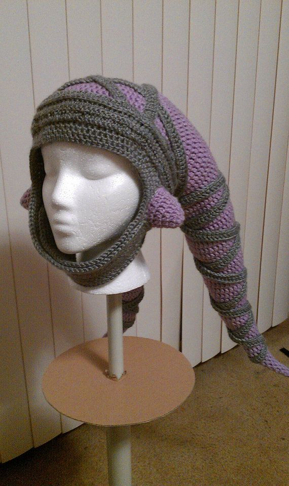 """Now THIS. THIS is a Twi'lek hat. :3 """"Star Wars Twi'lek Crocheted Hat FREE SHIPPING. $75.00, via Etsy."""" WHOAH.... NEED THIS NOW"""