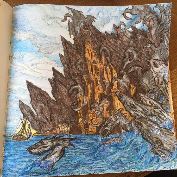All men must draw gameofthronescoloringbook for Game of thrones coloring book finished pages