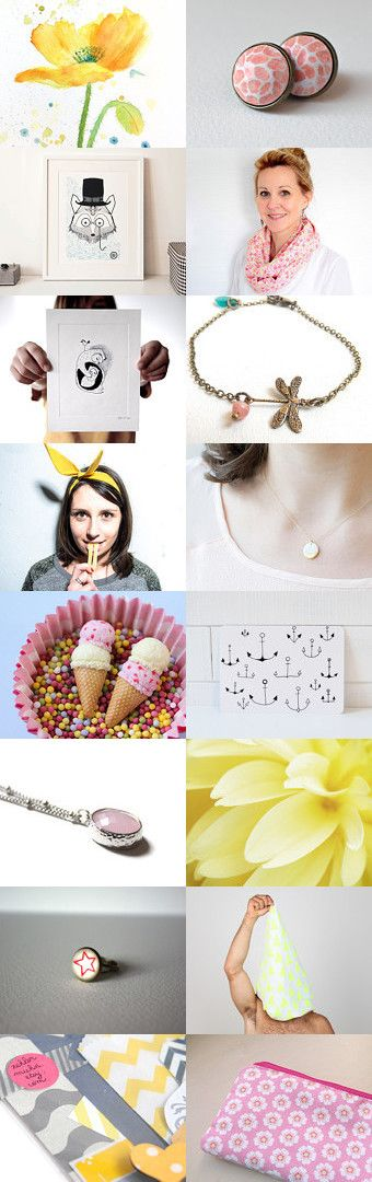 Breton treasuries for summer. by Gabrielle Jégo on Etsy--Pinned with TreasuryPin.com