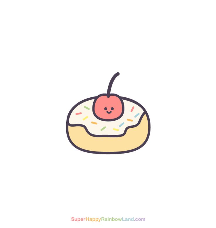 Cherry Donut - Daily Drawing 345!