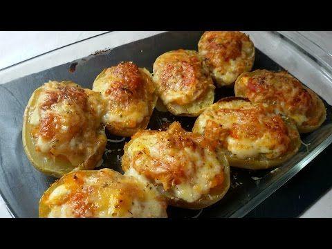 Patatas rellenas de atún | Cocina