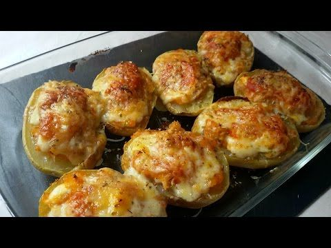 Patatas rellenas de atún - Anna Recetas Fáciles