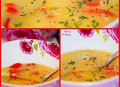 Hierbij een recept van een zalig soepje. Een slank en snel soepje..... Yammie! Heerlijke en verfijnde smaak.