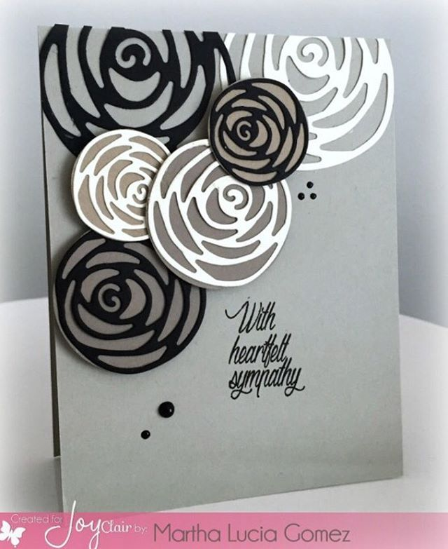 Everyday sentiments is a stamp set that Martha Lucia from @stampartpapel said is…