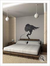 """Vinilo decorativo Flor4u®. Modelo """"Room 04"""" disponible en www.flor4u.com"""