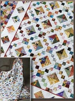SCRAP THERAPY QUILT