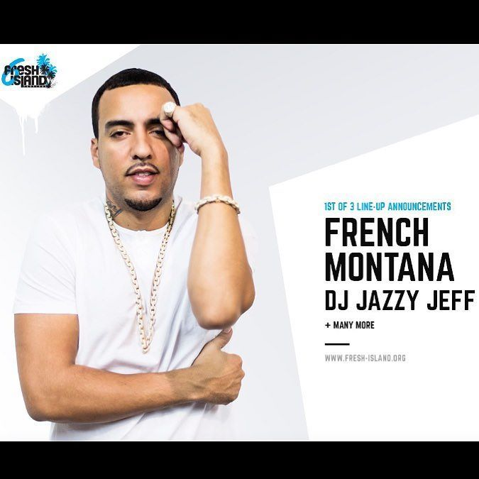 French Montana at Fresh Island Festival 2017 #zrce #pag #novalja #freshisland #frenchmontana #hiphop #blackmusic #festival #croatia @freshislandfest @frenchmontana