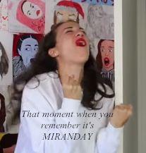 Miranda sings meme! Share it!